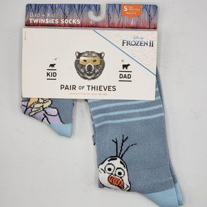 Pair of Thieves Dad Kid Twinsies Crew Socks Disney